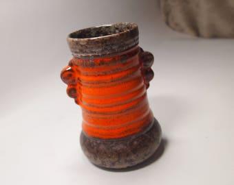 Pottery strehla gdr east germany pottery vase