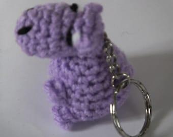 Amigurumi Keyring - Hippo