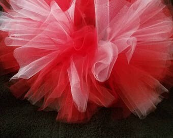 Valentine's Red and Pink Tutu