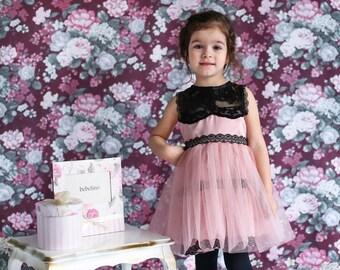 Little Princess Dress, Girl Satin Dress, Little Girl Dress, Kids Tulle Dress, Pink Dress, Girl Costume Dress, New Year Dress, Lace Dress