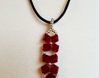 Necklace/Beaded Pendant Necklace