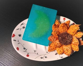 MoonLight Relax Handmade Soap with Moon and Citrus and Mentha Flavor