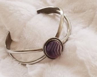 Lovely Silver Cuff Bracelet