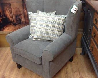 Grey Valour Armchair/Reading Chair
