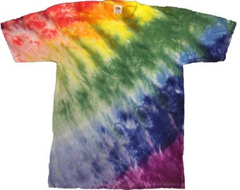 Dye-Tye color Rainbow T-shirt