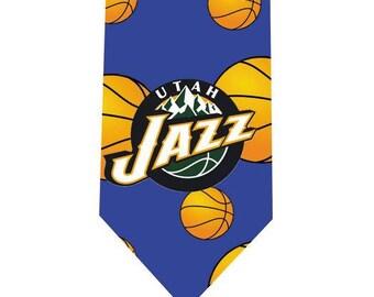 Basketball Tie - Utah Jazz
