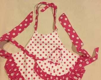 Toddler/matching doll Aprons