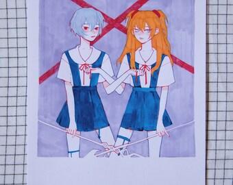 Ribbon Original Illustration