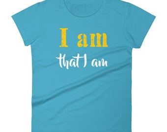 I_am_that_I_am Tshirt Women's short sleeve t-shirt