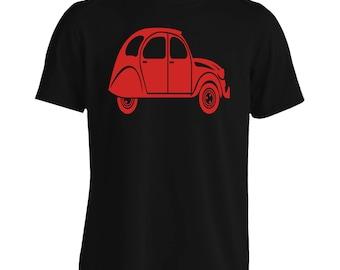 Citroen 2Cv Men's T-Shirt j516m