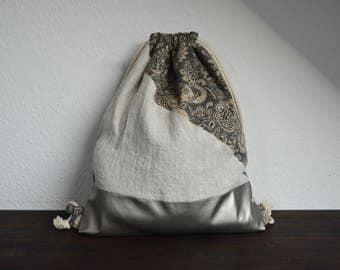 Gymbag Metallic-Look