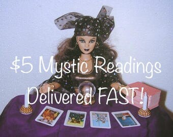 Five Dollar Mystic Readings Delivered FAST! - Five Dollar Divination