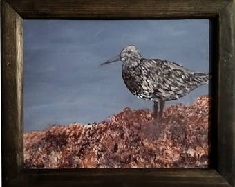 Bird Painting with frame