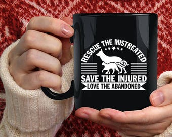 Rescue The Mistreated Coffee Mug, Best Zoologist Coffee Cup