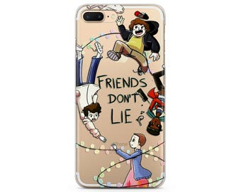 iPhone 8 case stranger things friends dont lie phone case iPhone 7 plus case friendship cases iPhone X case cute iPhone 6 case clear iPhone