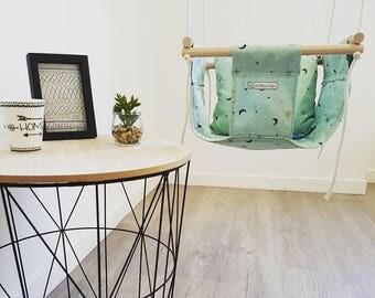 swing baby/toddler fabric swing indoor, outdoor swing, babyswing, home decor fabric swing