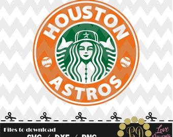 Houston Astros coffee svg,png,dxf,shirt,jersey,baseball,college,university,decal,proud mom,disney,softball,college,new york,starbucks,texas
