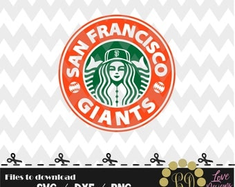 San Francisco Giants coffee svg,png,dxf,shirt,jersey,baseball,college,university,decal,proud mom,disney,softball,college,starbucks,ncaa,svg