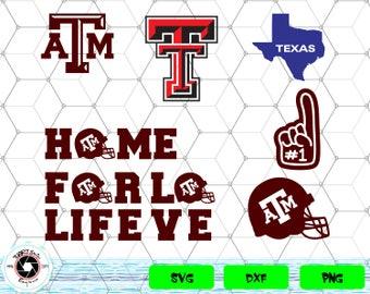 Texas Aggies svg,png,dxf/Texas Aggies clipart for Print/Design/Cricut/Silhouette...etc