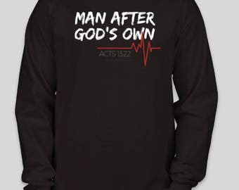 Man After God's Own Heart Long Sleeve