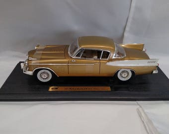 "Vintage 1957 Studebaker ""Golden Hawk"" Die Cast metal car"