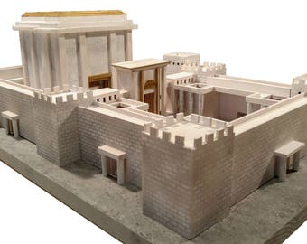 Jerusalem Second Temple Model Kit (Do-it-Yourself) - Beit HaMikdash