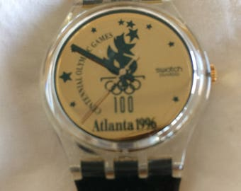 Olympic 1996 Atlanta Swatch Watch