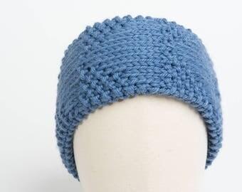 Headband Edelweiss (Prussian blue)