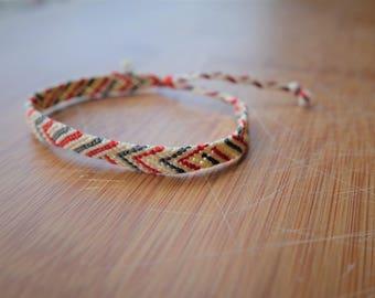 Geo pattern friendship bracelet