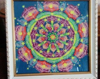 "Painting ""Mandala of Love and Harmony"""