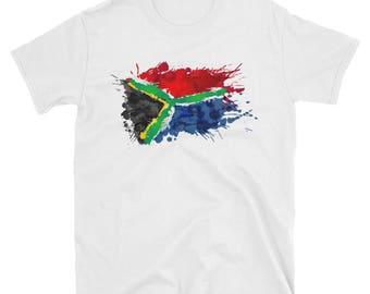 South African flag - Short-Sleeve Unisex T-Shirt