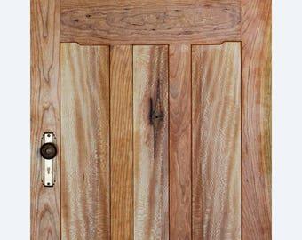 """Craftsman Interior Door, 80"""" x 30"""""""