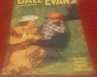 Dale Evans Comics  (F) DC 1950 Golden Age Western Sierra Smith Toth