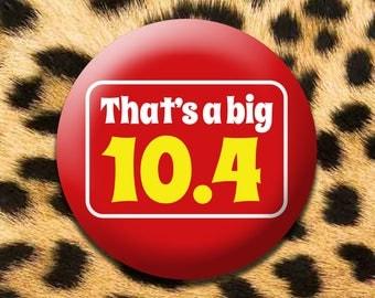 That's a big 10.4 - 45mm badge