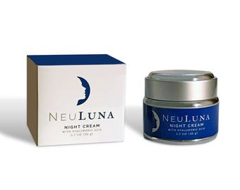 NeuLuna Night Cream with Hyaluronic Acid