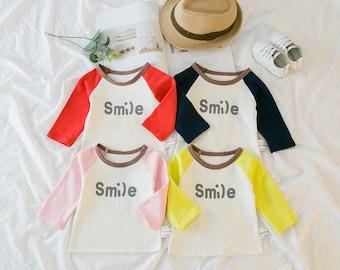 Smile cotton top