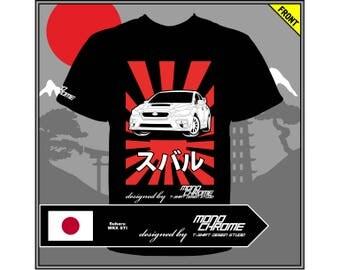 T-shirt Subaru WRX STI