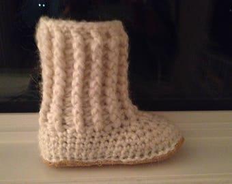 Children's Luxury Slipper Boots