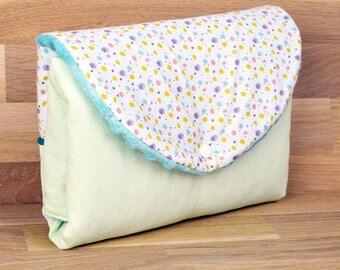 Portable changing pad mattress