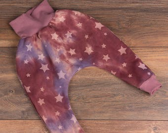 Baby Bloomers Pink Stars