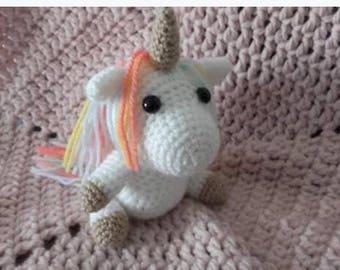 Unicorn amigurimi