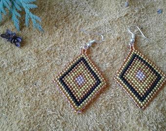 Taming The Sun designer earrings