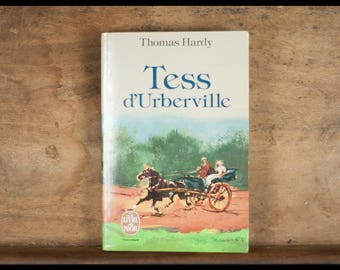 Tess of D'urbervilles, Thomas Hardy, paperback, novel, French, 1980