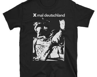 Xmal Deutschland T-Shirt, Sisters of Mercy, The Mission, Joy Division, Skeletal Family, Clan of Xymox, Goth