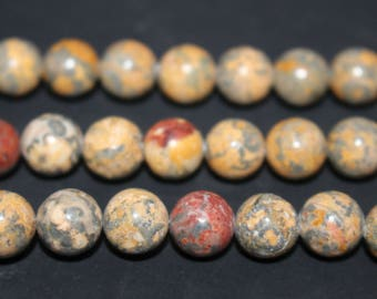 15 Inches Full strand,Natural Leopardskin Jasper Gemstone smooth round beads 6mm 8mm 10mm 12mm beads,loose beads,semi-precious stone