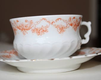 Beautiful Weimar Germany teacup and saucer