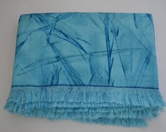 Coastal Colours Contemporary Cotton Throw