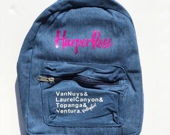Custom Kids / Baby Backpack - San Fernando Valley Saying