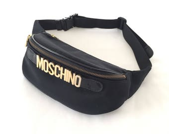 RESERVED *do not purchase*  - Vintage Moschino Belt Bag