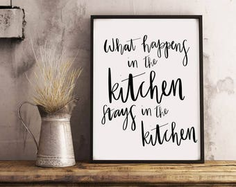 What Happens in the Kitchen
